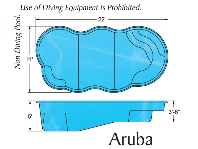 aruba free form shape pool design with caribbean pools on the outer banks nc