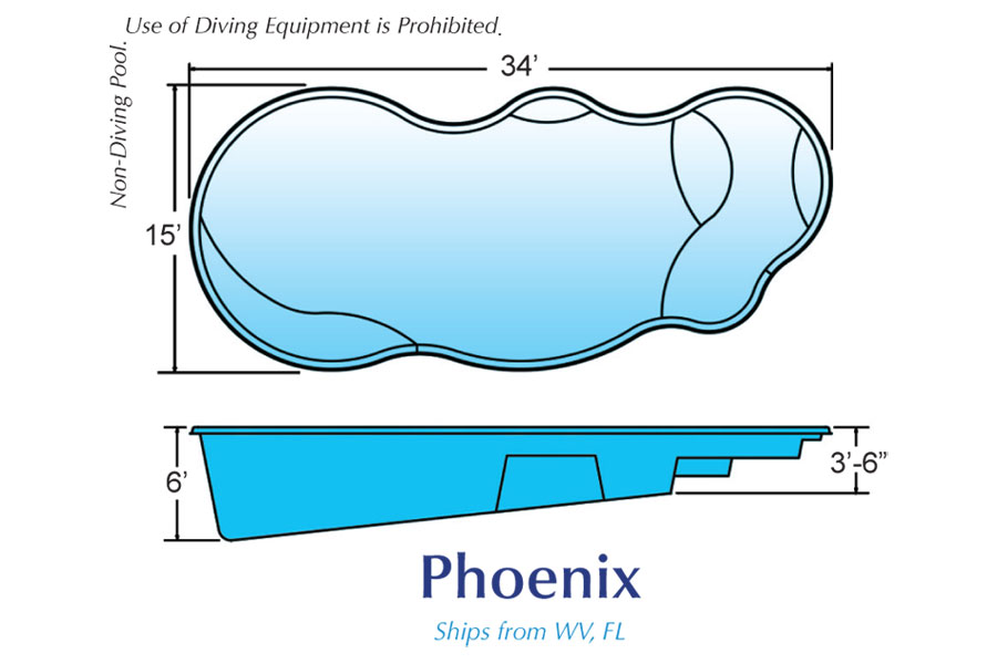 phoenix free form pool designs by hawaiian pools with caribbean pools on the outer banks nc