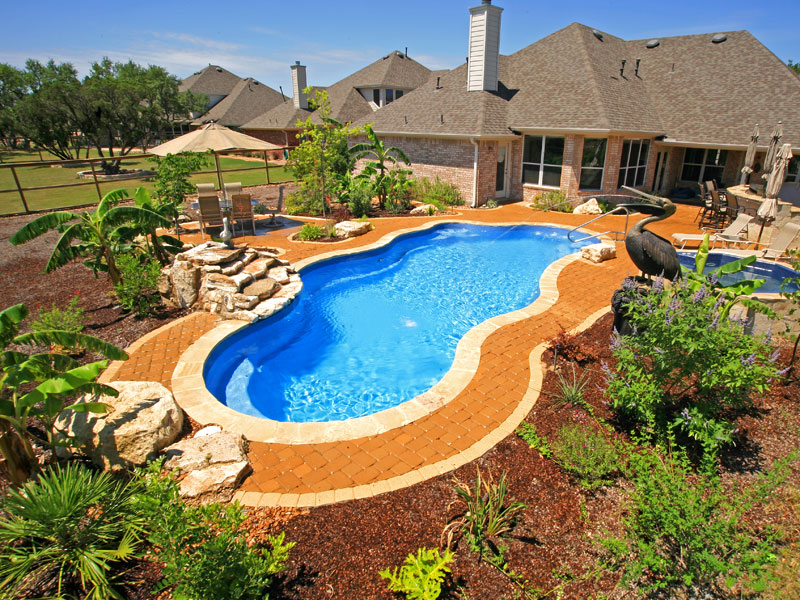 Outer banks free form pool shape designs by viking pools for Viking pools